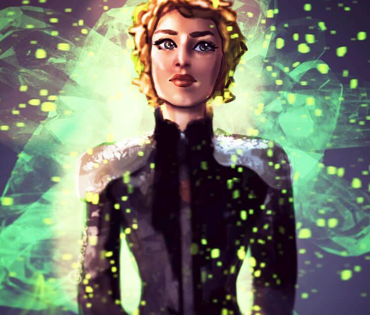 Queen Cersei digitalart by Sarah Moustafa