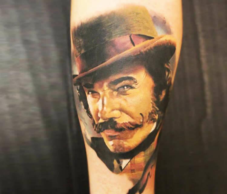 Bill the butcher tattoo by Sergey Shanko