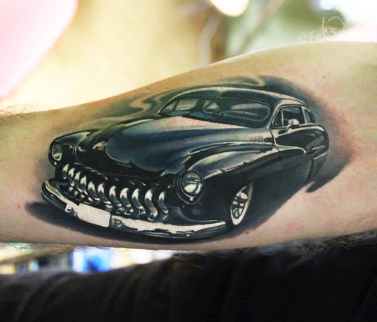 Car 1 tattoo by Sergey Shanko