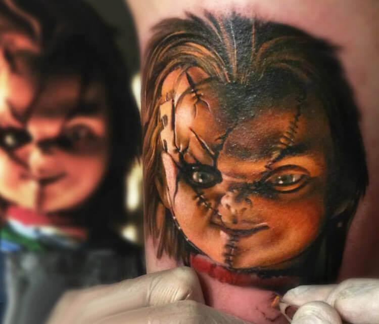 Chaki tattoo by Sergey Shanko