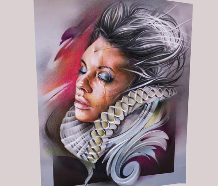 Countess airbrush by Sergey Shanko