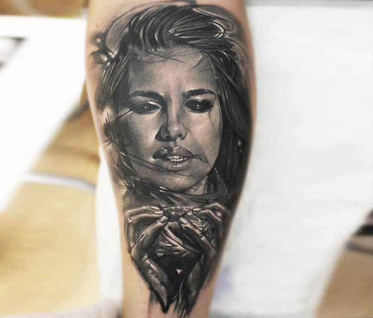 Hopeless tattoo by Sergey Shanko