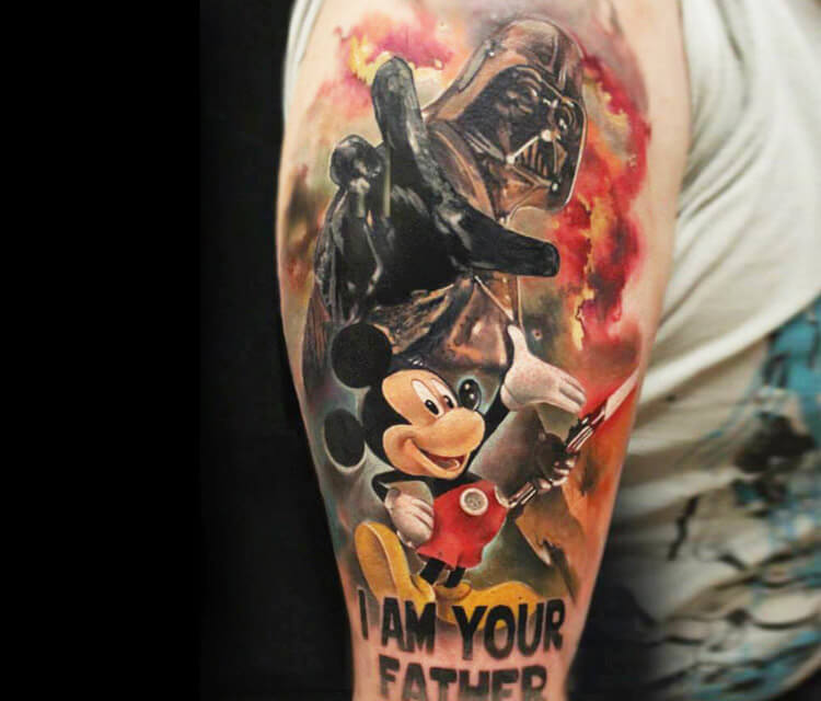 I am your Father tattoo by Sergey Shanko