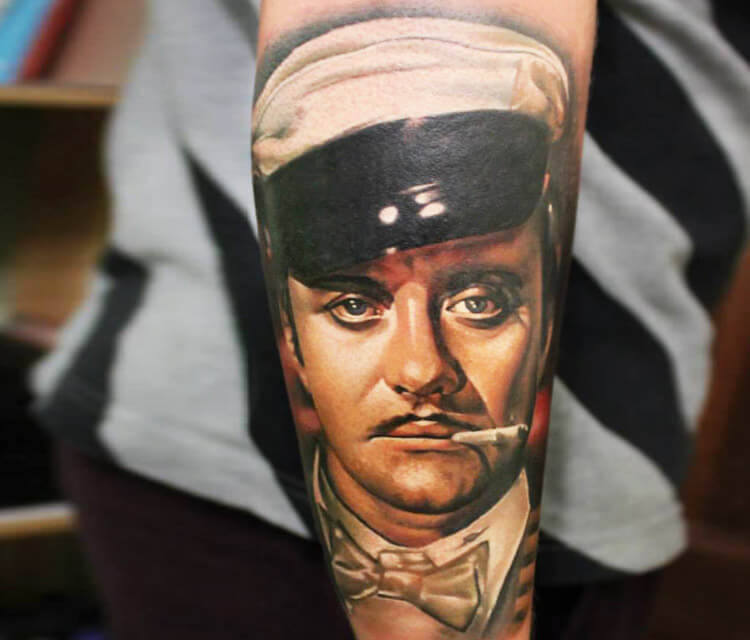 Sailor tattoo by Sergey Shanko