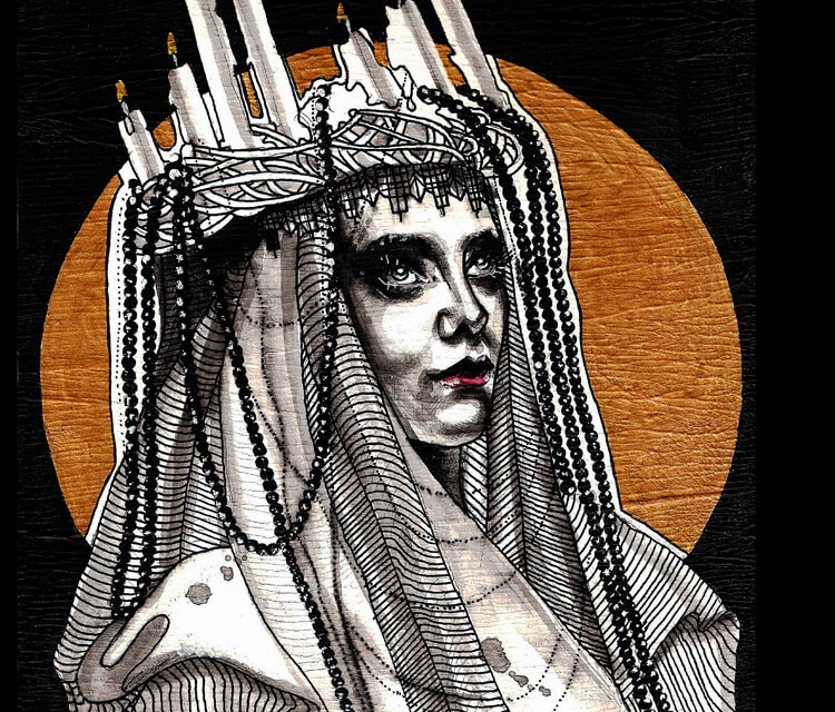 darkmag painting by Surbina Psychobilla