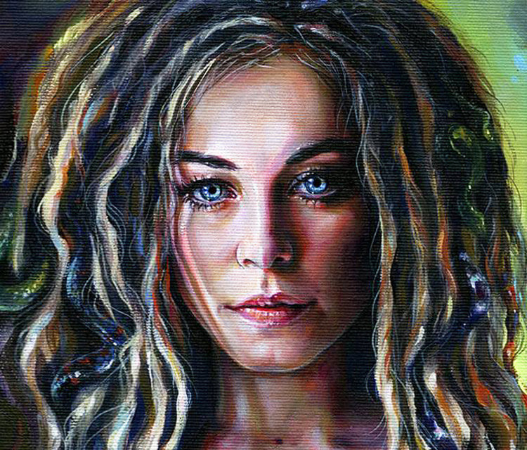 Look painting by Tanya Shatseva from Russia
