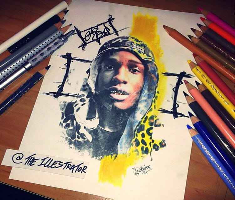 ASAP! drawing by The Illestrator