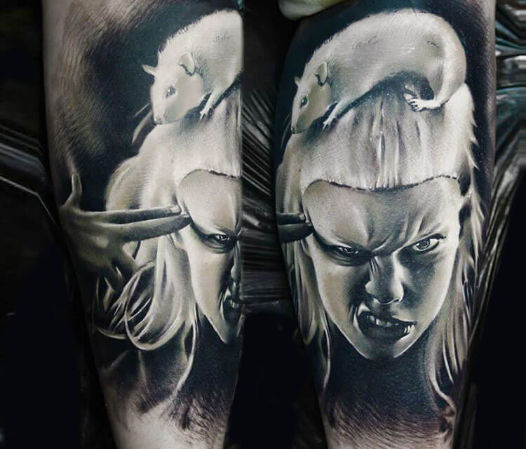 Yolandy Viser tattoo by Timur Lysenko