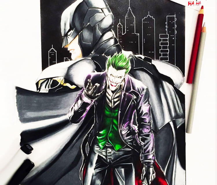 Prince of Crime drawing by Tom Chanth Art