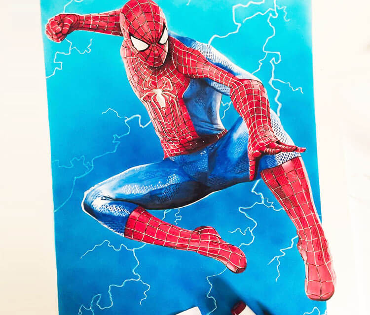 The Amazing Spiderman by Tom Chanth Art