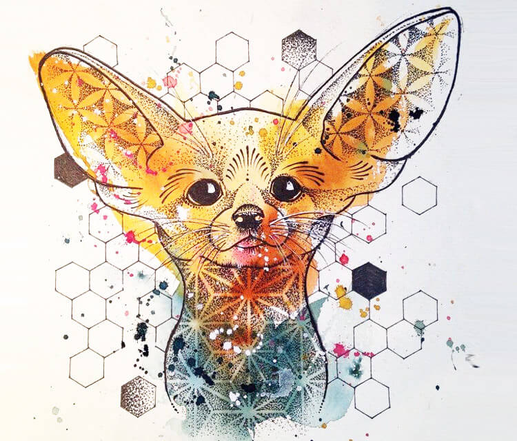 Collaboration by Tori Ratcliffe Art