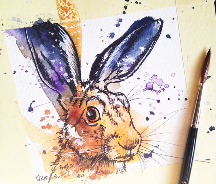 Rabbit by Tori Ratcliffe Art