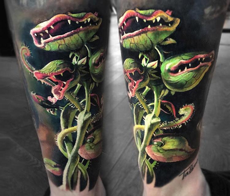 Carnivorous Plant  by Valentina Ryabova