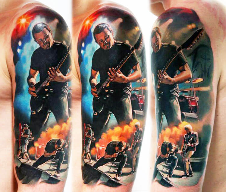 Music band tattoo by Valentina Ryabova