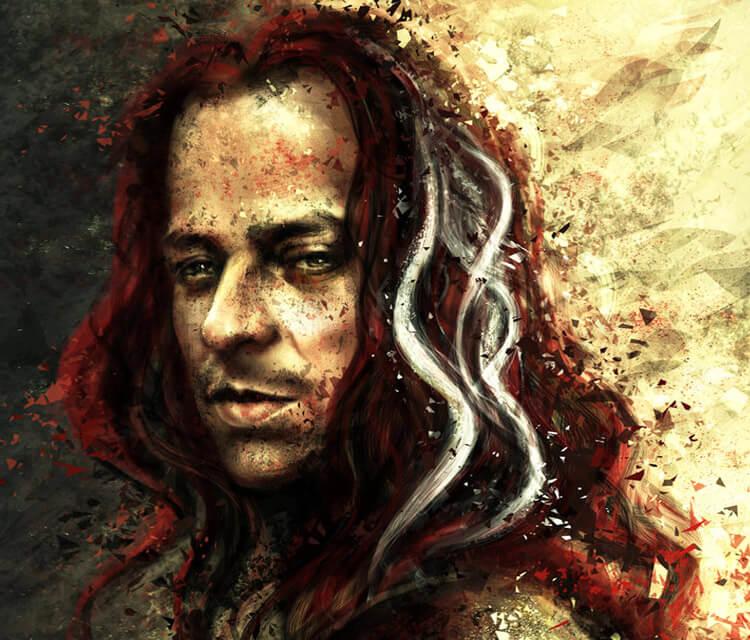 Jaqen H ghar digitalart by Varsha Vijayan