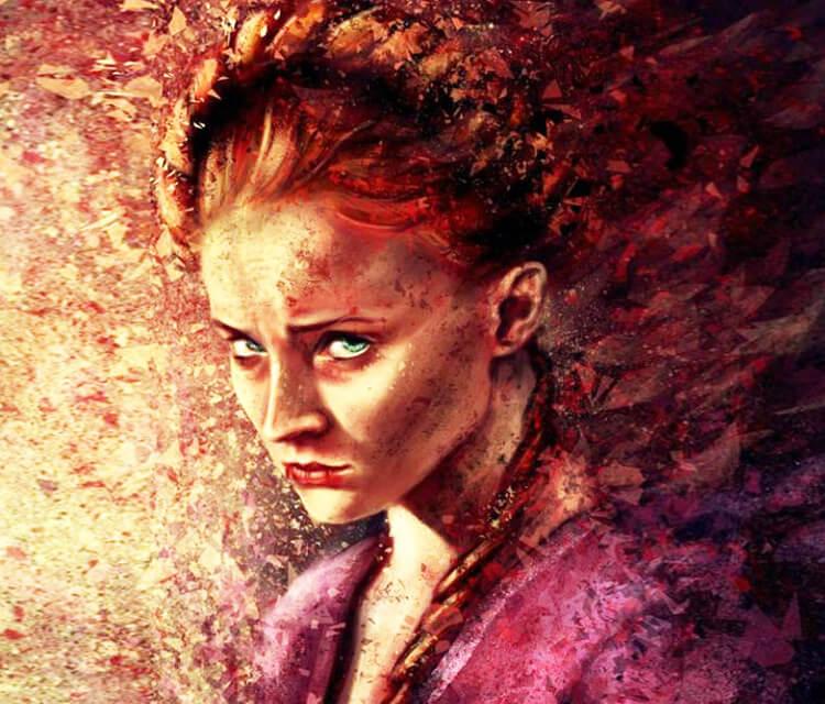 Sansa Stark  by Varsha Vijayan