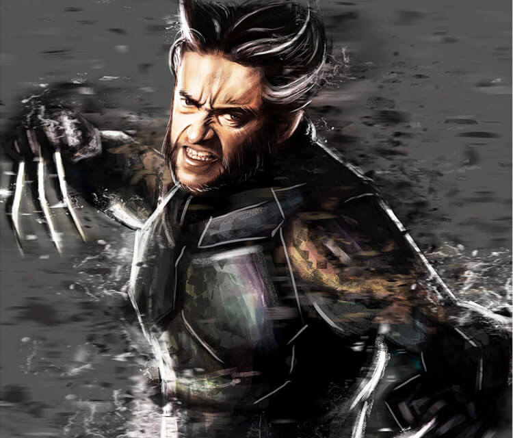 Wolverine from X men digitalart by Varsha Vijayan
