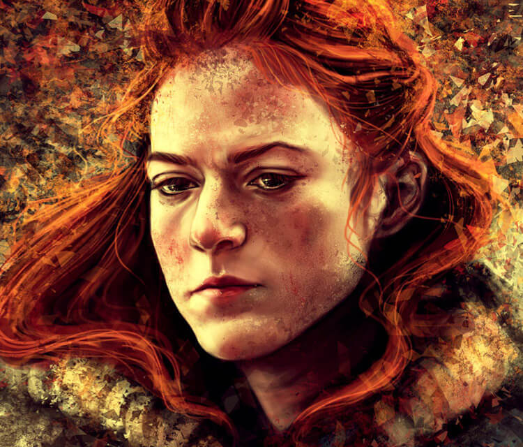 Ygritte digitalart by Varsha Vijayan
