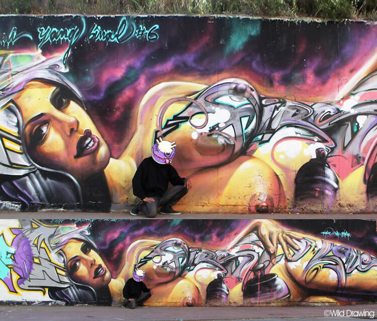 First Love in Athens 2015 by Wild Drawing