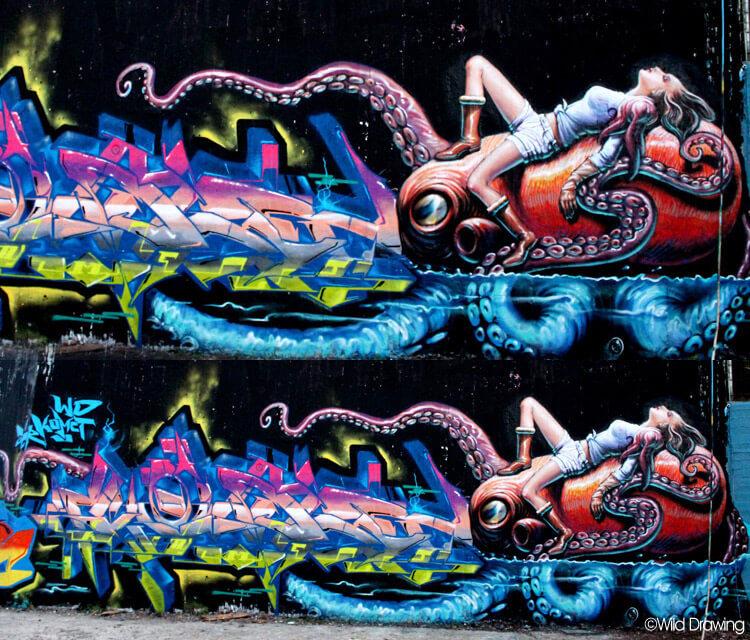 Graffiti by Wild Drawing