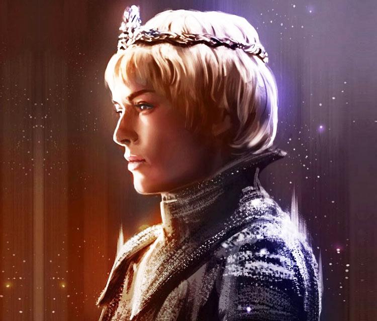 Cersei Lannister digitalart by Zarory Art