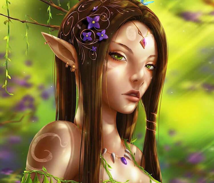 Forest Elf digitalart by Zarory Art
