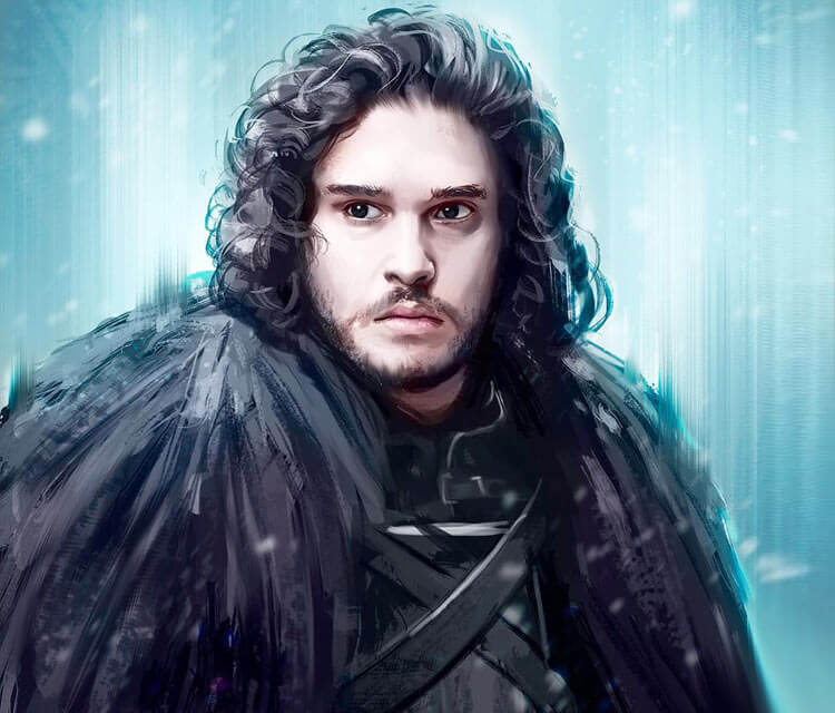 Jon Snow digitalart by Zarory Art