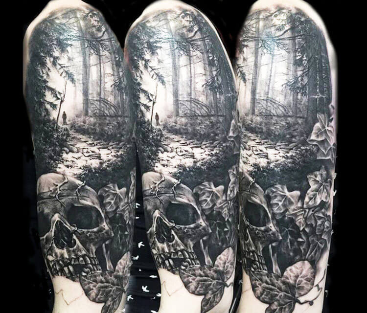 forest tattoo 17