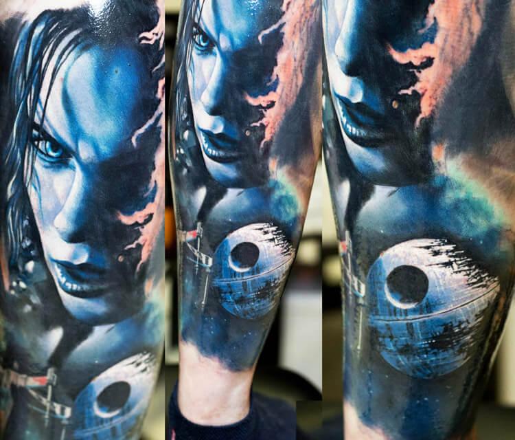 Star Wars Imperium tattoo by Zsofia Belteczky